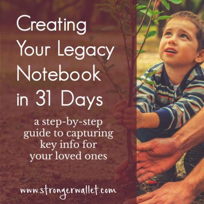 Legacy Notebook: Durable Power of Attorney