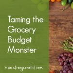 Taming the Grocery Budget Monster