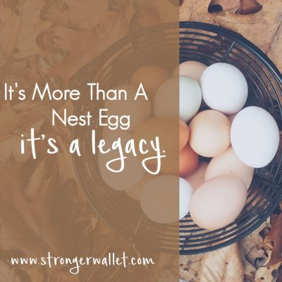 Your Financial Legacy & Why It Matters