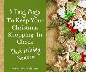 3 Ways To Keep Your Christmas Shopping In Check This Year