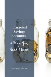 Discover the power of targeted savings account